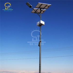 8M/9M 60W Solar LED Street Lights in Kenya
