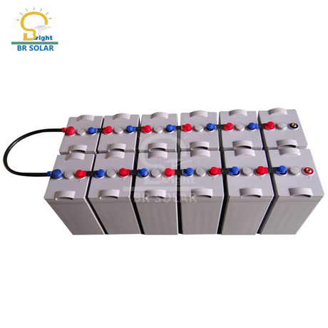 2V Solar Power Battery