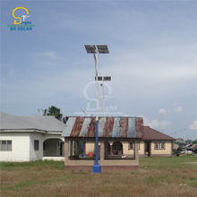 Bottom Battery Solar Streetlights
