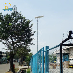 100W All In One Solar LED Lights Hot -selling in Indonesia