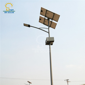 7M40W Solar Street Lights in Tanzania